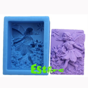 Silicone Candle Mould DIY 3D Angel Mould S0557