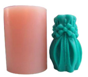 Flower Bottle Candle Mould Silicone Soap Mould Candle Mould DIY Candle Making Mould