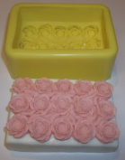 Roses Soap Bar Mould