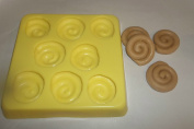 Cinnamon Bun Tarts/Soap Candle & Soap Mould