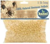 Hansi Organics Beeswax Pellets 1 LB (Pound) Bag