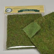 Moss Mat 41cm X 46cm Green