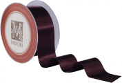 1.6cm Double Faced Satin Ribbon - Cassis