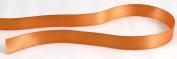 Kel-Toy Double Face Satin Ribbon, 1.6cm by 25-Yard, Orange
