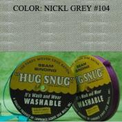 100yds 1.3cm Schiff Seam Binding Hug Snug Ribbon Colour Nickl Grey #104
