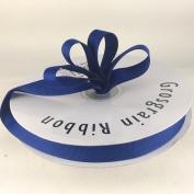 1.6cm Royal Blue Grosgrain Ribbon 50 Yards Spool Solid Colour.