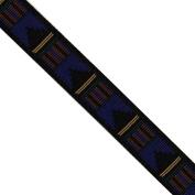 "5 yards 3/4"" WIDE 20mm Geometric Woven Jacquard Ribbon Trim Tape"