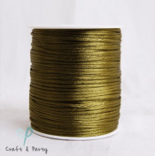 Willow 2mm x 100 yards Rattail Satin Nylon Trim Cord Chinese Knot