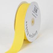 Canary Grosgrain Craft 2.2cm By 50-yard Ribbon Spool
