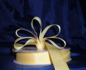 Grosgrain Ribbon 2.2cm - 50 Yards (150 FT) - Yellow - Sewing - Craft - Wedding Favours