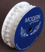 Modern Romance Lace with Ribbon Ruffle