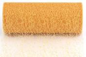 Kel-Toy Sparkle Mesh Craft Fabric, 15cm by 10-Yard, Gold