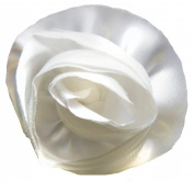 Venus Ribbon F01196-A Satin Netted Flower Pin, Cream