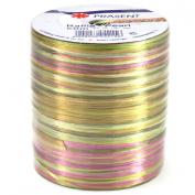 Morex Ribbon Pearl Raffia Fabric Ribbon Spool, 55-Yard, Multi Colour
