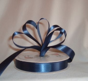 Ribbon - Satin Ribbon- 1.6cm Single Face 50 Yards (150 FT) - Navy Blue - Sewing - Craft - Wedding Favours