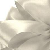 2.2cm x 100 yds Single Face Satin ribbon- IVORY