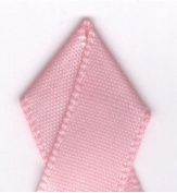 Papilion R074300120150100Y .13cm . Single-Face Satin Ribbon 100 Yards - Pink