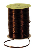 Premier Packaging AMZN-7500018 Pearlescent Raffia Ribbon, 0.6cm by 100-Yard, Dark Khaki