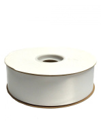 White Double Face Satin Ribbon, 3.8cm x 50yd