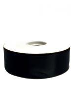 Black Double Face Satin Ribbon, 3.8cm x 50yd
