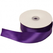 Purple Satin 3.8cm thick x 50 yards Spool of Satin Ribbon - Sold individually