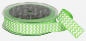 Ampelco Ribbon Company Chevron Printed Grosgrain Ribbon