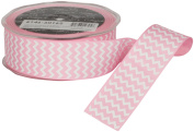 Ampelco Ribbon Company Chevron Printed Grosgrain Ribbon