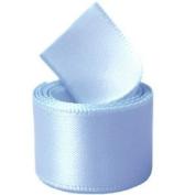 Papilion R07430538032350YD 3.8cm . Single-Face Satin Ribbon 50 Yards - Tropic Blue