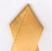 Papilion R074300230660100Y .220cm . Single-Face Satin Ribbon 100 Yards - Yellow Gold