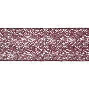 Vickerman 78210cm - 10cm x 10yd Magenta Glitter Mesh Ribbon