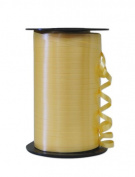 Partyland Daffodil Yellow Ribbon - 6 rolls - 0.5cm x 500 yards long