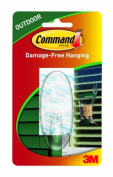 Command Outdoor Hook, 1-Hook, 6-Pack