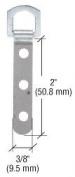 CRL 3-Eyelet Safety Swivel Metal Type Hanger