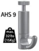 Arti Teq Secure Self Grip Hooks 2/Pk