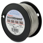 SuperSoftstrand Size 3 - 1,125-Feet Picture Wire Vinyl Coated Stranded Stainless Steel