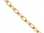 Faithfull Clock Chain Polished Brass 1.6Mm X 10M