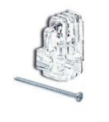 CRL 0.3cm Plastic Mirror Clips and Screws