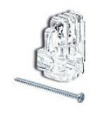 CRL 0.3cm Plastic Mirror Clips and Screws