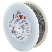 Surflon Size 3 - 40-Pound Break 1000-Feet Crimping Picture Wire Nylon Coated Stainless Steel, Bright