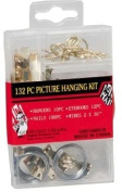 Picture Hanging Kit 132 Pieces