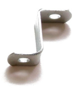1.9cm offset mounting canvas Z clips for picture framing -- #15cm x 1cm pan-head screws included -- 1000 bulk pack!