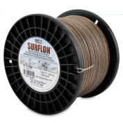 Surflon Size 7-135 - 68-Pound Break 1000-Feet Crimping Picture Wire Nylon Coated Stainless Steel, Bronze