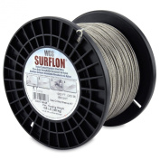 Surflon Size 7 - 105-Pound Break 1000-Feet Crimping Picture Wire Nylon Coated Stainless Steel, Bright