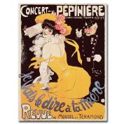 Trademark Fine Art Concert de la Pepiniere, 1902 Canvas Wall Art