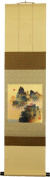Japanese scroll and 5 Gosekku(five season festivals) fancy paper set