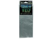 Tissue Gift Wrap 50cm x 50cm 4/Pkg-Silver
