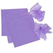 Lavender Pomps Tissue Squares
