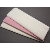 Crepe Paper 3/Sheets-White/Cream/Pink
