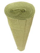 Italian Crepe Paper roll 180 gramme - 562 GREEN LEAF