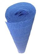 Italian Crepe Paper roll 180 gramme - 557 STEEL BLUE